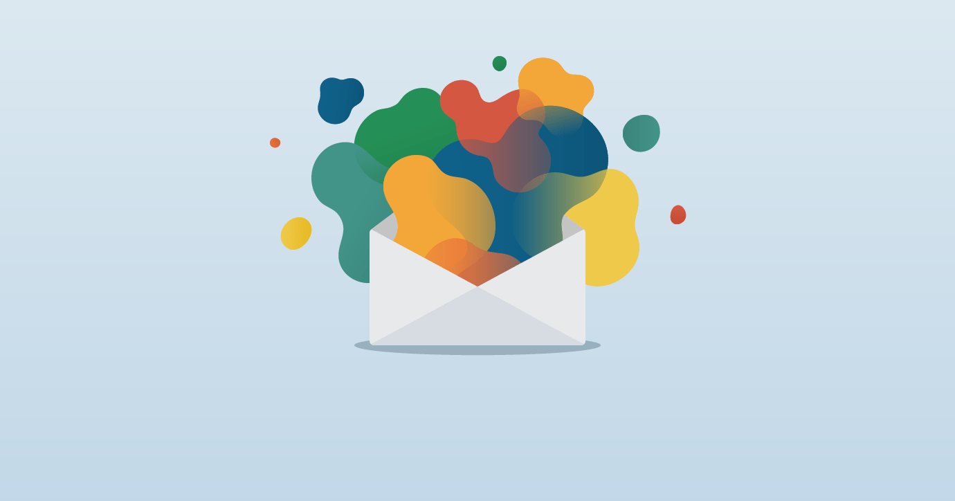 trending in email design organic shapes